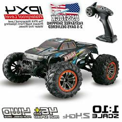 9125 RC Monster Truck Car 1:10 Scale 4WD 2.4Ghz Off-road Rem