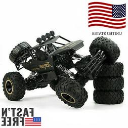 RC Monster Truck Off Road Cars 1/8 4WD Rock Crawler 45 ° cl
