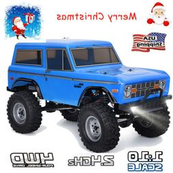 RGT RC Racing Car Crawler 1/10 Scale 4WD Off-Road Truck Rock