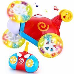 Joyin Toy RC Radio Remote Control Cartoon Stunt Race Car for 90a7a980d