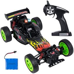 SGILE RC Remote Control Car with Light, 20 KM/H High Speed R