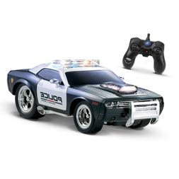 KidiRace RC Remote Control Police Car for Kids Durable, Rech