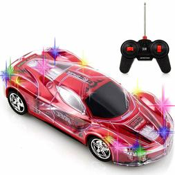 RC Remote Control Racing Car Toy, with Awesome Flashing LED