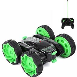 RC Stunt Car Racing 4WD RC Car Double Side 360 Degree Spins