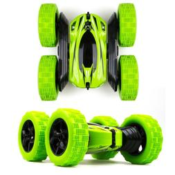RC Stunt Car Remote Control Cars Rotate Double Sided Rock Cr