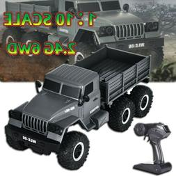 Fayee FY004A 1//12 RC 6WD 2.4GHz Military Truck Army Truck Off-road Car RTR G8G7