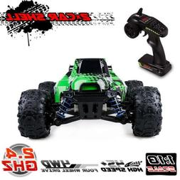 Distianert RC Truck 1/18 Scale Flexible 4WD Car for Kids & A