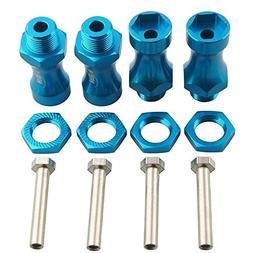 rc truck alum blue wheel
