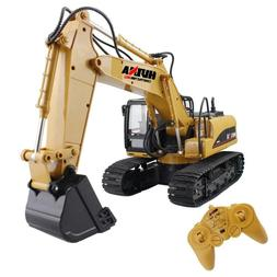 RC Truck Remote Control Excavator Crawler Tractor 15 Channel