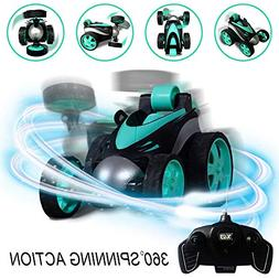 RC Vehicle Four Wheel Stunt Car, Remote Control Car, 360 Deg