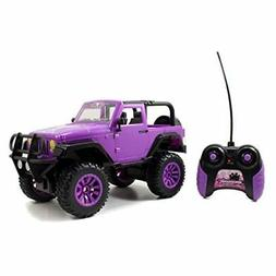 RC Vehicle Remote Control Toy Big Foot Jeep Teen Girl Doll C