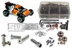 RCScrewZ Traxxas Nitro Rustler 2.5 Stainless Steel Screw Kit