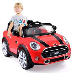 Costzon Ride On Car, Licensed BMW Mini Cooper Electric Car,