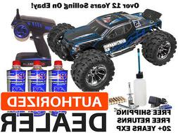 Redcat Earthquake 3.5 Nitro .21 4x4 Truck BLUE 2.4G Mega Sta