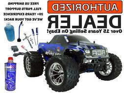 Redcat Volcano S30 .18 Nitro 4X4 Blue / Silver Truck 2.4Ghz