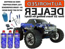 Redcat Volcano S30 .18 Nitro 4X4 Blue Truck 2.4Ghz MEGA Star