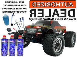 Redcat Volcano S30 .18 Nitro 4X4 Red Truck 2.4Ghz MEGA Start