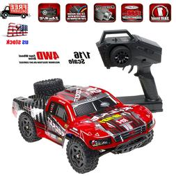 REMO 1621 1/16 2.4G 4WD RC Truck Car Waterproof Brushed Shor