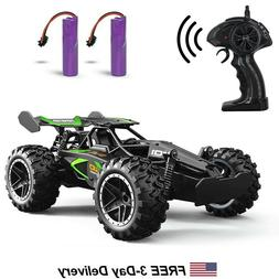 Remote Control Car 2WD Fast High Speed Toy Off Road Shocks R