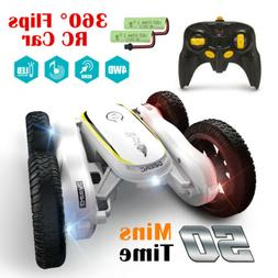 Remote Control Car 360° Flips Stunt Car RC Car 4WD High Spe