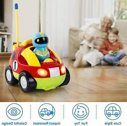Remote Control Car 360° for Kids Baby Toddlers Cartoon RC R