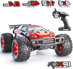 Vatos 1/12th scale RC Car 4WD 40+KM/H High Speedwith LED L