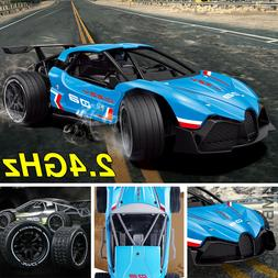 Remote Control Car RC Drift Car Fast High Speed Toy Shocks R