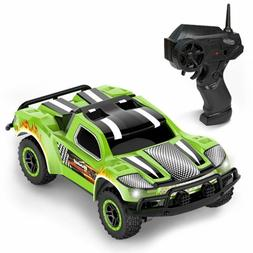 Remote Control Car - Mini Racing Coupe with Rechargeable Bat