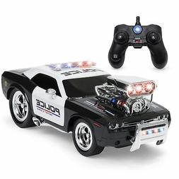 Best Quality 2.4 GHz Remote Control Police Car w/ Lights, Re