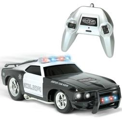 Remote Control Police Car with Flashing Lights & Sounds 2.4G