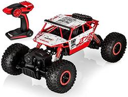 Top Race Remote Control Rock Crawler, RC Monster Truck 4WD,