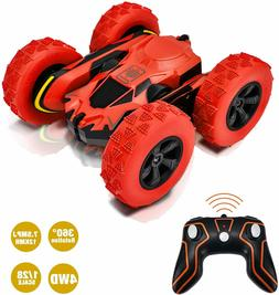 Remote Control Stunt Car RC Cars 360°Flips Double Sided  Hi