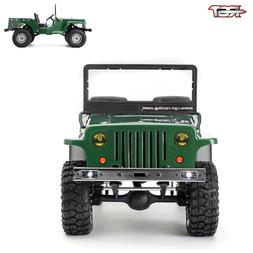RGT Racing RC Car 1/10 Scale 4WD Electric Military Simulatio