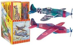 Rinco GDFLYPL 8 In. Flying Glider Plane - Pack Of 96