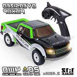 GPTOYS Remote Control Car 1:12 2.4GHz 4WD Off Road Monster T