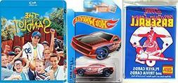 The SANDLOT - Hot Wheels Baseball Car + Cards & Blu Ray Movi