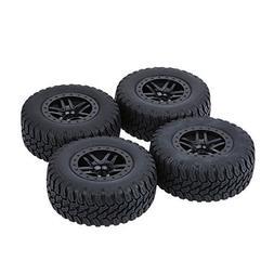 GoolRC 4Pcs/Set 1/10 Short Course Truck Tire Tyres for Traxx