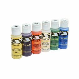 Shock Oil 6Pk, 20,25,30,35,40,45, 2oz TLR74020 LOSI