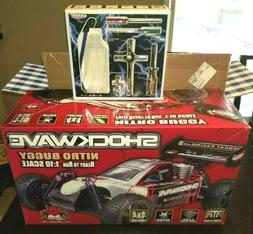 SHOCKWAVE NITRO BUGGY 1:10 Scale R/C READY TO RUN FACTORY SE