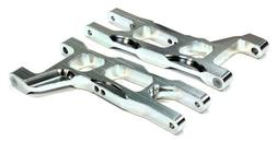 Integy Silver Aluminum Front Lower Arms Traxxas Stampede 2WD