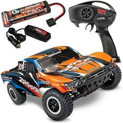Traxxas Slash 110-Scale 2WD Short Course Racing Truck with T