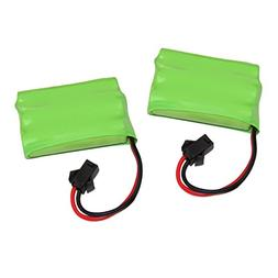 Set of 2 Spare & Replacement Rechargeable Battery for KidiRa