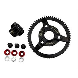 Hot Racing STE260 Steel Pinion and Spur Gear Set  - Traxxas
