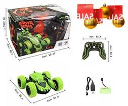 SZJJX Stunt RC Car, 2.4Ghz Double Sided Tumbling Remote Cont