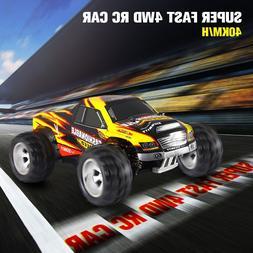 Super Fast 1/18 2.4G 4WD RC Truck 40Km/h High Speed Remote C