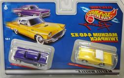 Hot Wheels 36937 1957 T-Bird and 1957 Chevy Magnum 440-X2 HO