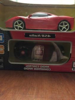 Maisto Tech Remote Control 458 Italia Ferrari New in Box
