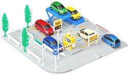 Tomica Town Parking Lot  by TOMY
