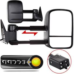 ECCPP Towing Power Non-heated Side View Door Mirrors Left Ri