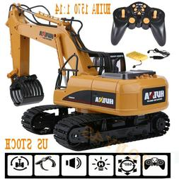 HuiNa Toys 1550 1/14 2.4G 15CH Alloy Excavator Engineering V
